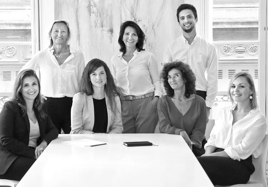 L'équipe du cabinet SJPP, avocats à Bordeaux