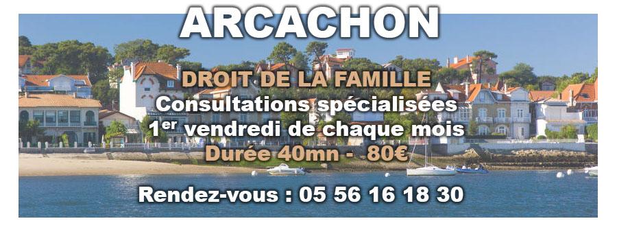 avocat arcachon : consultation droit-famille